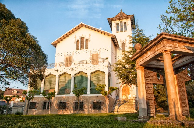 Fachada de la Casa Domingo Pujadas, La Garriga