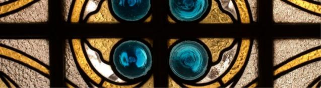 Detalle modernista de una ventana
