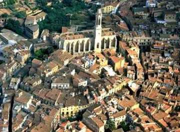 Vista aérea de Valls, Tarragona