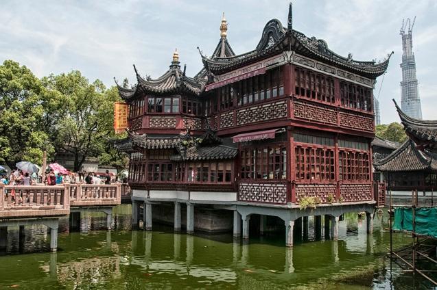 Old Town de  Shanghái / Fotografía de María Ibáñez